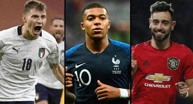 Mbappé lidera la lista: Top 10 de los jugadores más caros de la Eurocopa 2021