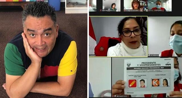 Jorge Benavides alista sketch de la audiencia pública de los votos impugnados en las Elecciones 2021