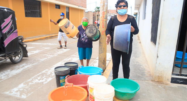 Corte de agua Sedapal hoy jueves 10 de junio