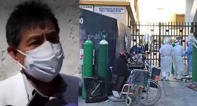 Casos de paciente COVID-19 aumentan en la ciudad de Arequipa.