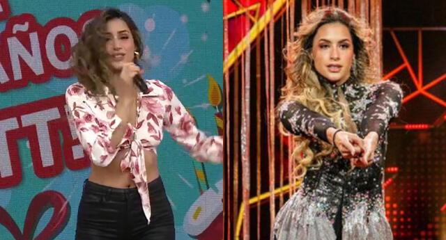 Milett Figueroa negó haber utilizado el programa para alterar su voz en vivo tras ganarle a Pamela Franco, y recordó que viene estudiando para mejorar.