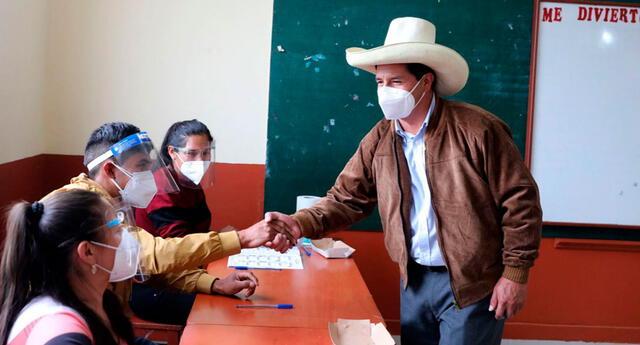 Conoce las regiones en las que ganó Pedro Castillo