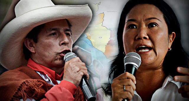 Resultados de la ONPE al 100 % en Ica, Tacna y Tumbes.