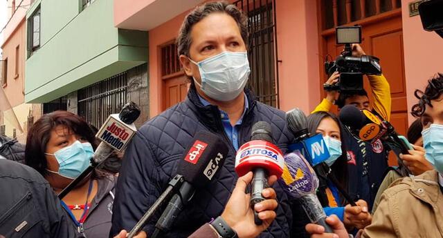 Daniel Salaverry se autoproblama vocero de Perú Libre; sin embargo, solo sería para la defensa legal del recurso de nulidad de Fujimori