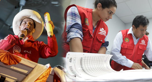 Perú Libre presenta solicitud para anular actas electorales.