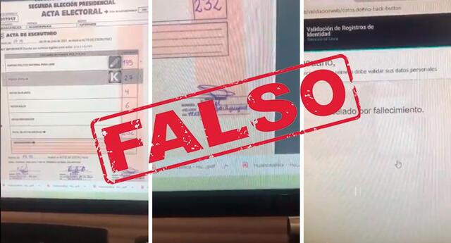 ONPE exhorta a la ciudadanía a no compartir noticias falsas.