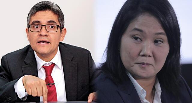 El fiscal José Domingo Pérez solicitó variar la comparecencia con restricciones por prisión preventiva contra Keiko Fujimori.