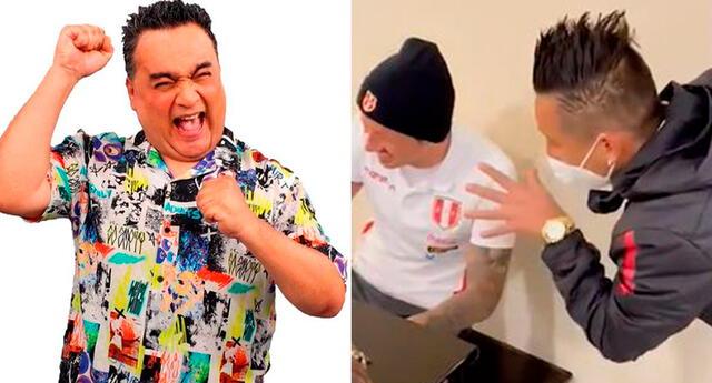 El cómico Jorge Benavides no pierde la oportunidad de hacer reír con sus imitaciones.