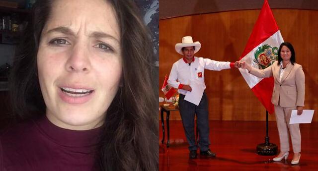 Yiddá Eslava respondió a usuarios que criticaron su pronunciamiento hacia Pedro Castillo y Keiko Fujimori sin pelos en la lengua.