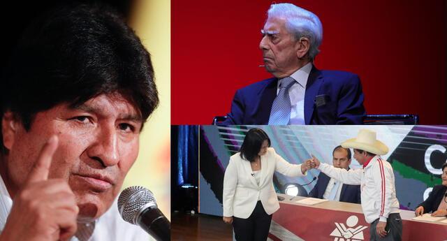 Evo Morales se pronunció sobre ventaja de Pedro Castillo ante Keiko Fujimori.