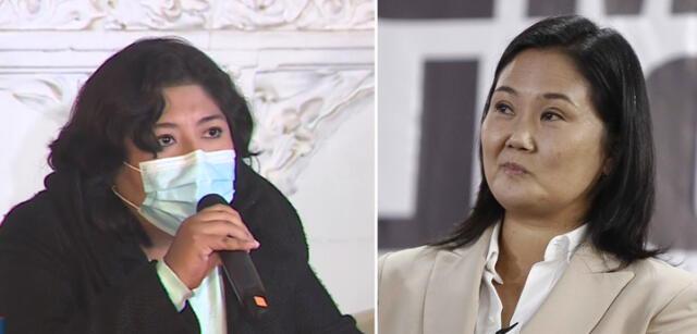 Betsy Chávez le dijo a Keiko Fujimori que acepte los resultados de la ONPE.