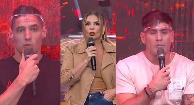 Pancho Rodríguez y Facu González explican por qué no saludaron en vivo a Johanna San Miguel.