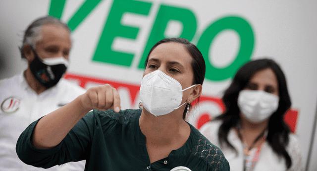 Verónika Mendoza menciona que pedidos de nulidad presentados por Fuerza Popular no tienen asideros.