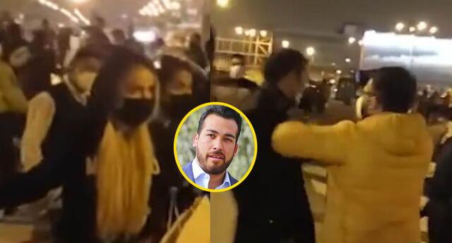 Seguridad de Álvaro Paz de la Barra agredió a urraco.