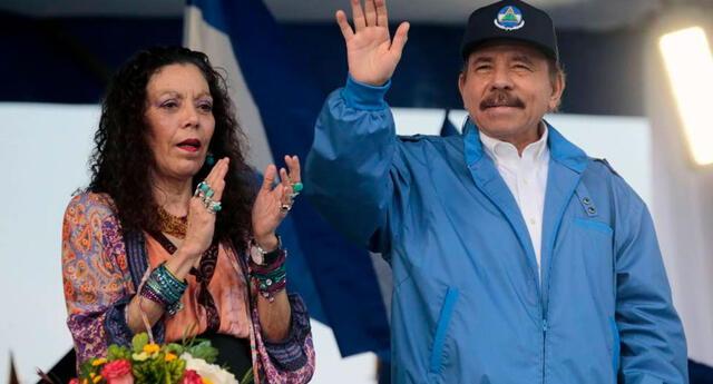 La vicepresidenta de Nicaragua, Rosario Murillo, felicitó este jueves 10 de junio al candidato izquierdista Pedro Castillo.