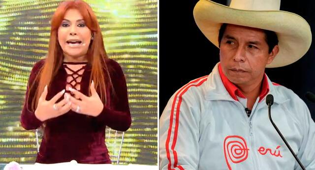 Magaly Medina revela que no piensa irse del país tras eventual victoria de Pedro Castillo.