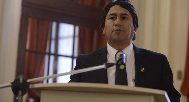 Vladimir Cerrón es el actual presidente de Perú Libre, partido por el que postula Pedro Castillo.