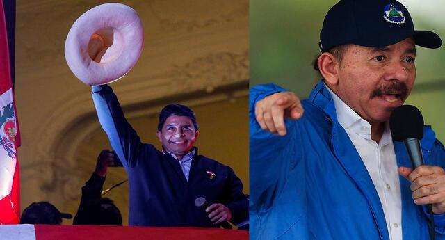 El mandatario de Nicaragua llamó a Pedro Castillo a falta de que la ONPE termine el proceso de conteo de votos.