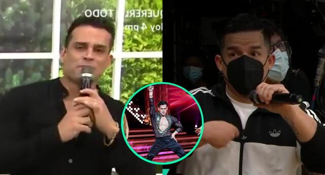 Christian Domínguez aseguró que el productor Armando Tafur lo llevó a comer helados, y le prometió