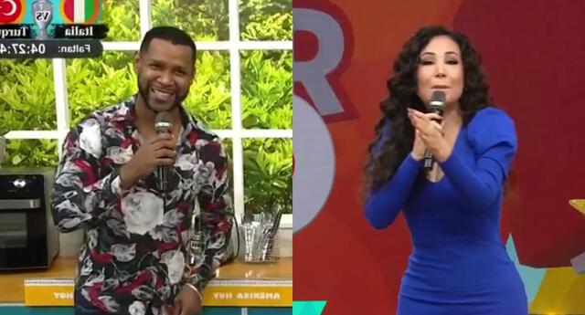 Edson Dávila aprovechó en pronunciarse sobre los dimes y diretes con Janet Barboza en América Hoy, y aclaró la relación que tienen.