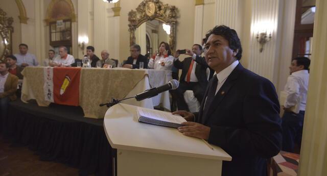 El investigado Vladimir Cerrón volvió a pronunciarse en sus redes sociales. En esta oportunidad, recordó que Perú Libre ha sido el ganador de las elecciones.
