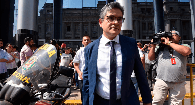 Piden protección para el fiscal José Domingo Pérez