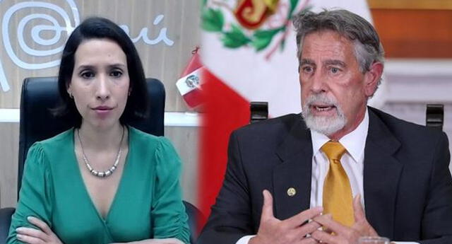 Claudia Cornejo se refirió a la llamada de Francisco Sagasti y Mario Vargas Llosa.