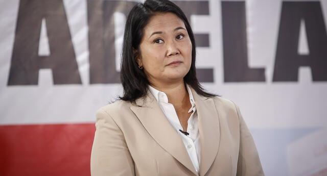 Keiko Fujimori sobre pedido de prisión preventiva: