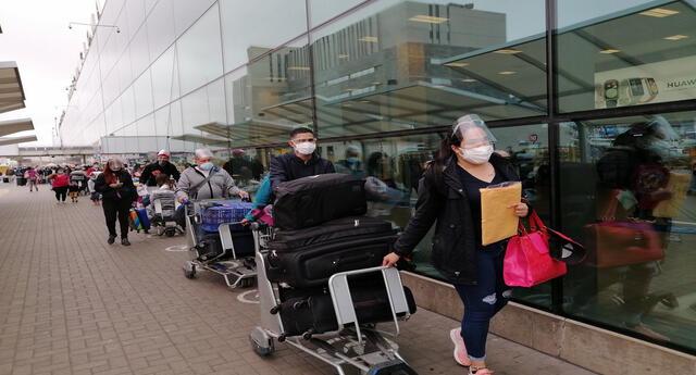 Perú es el segundo país con mayor número de repatriados, según la Cancillería venezolana.
