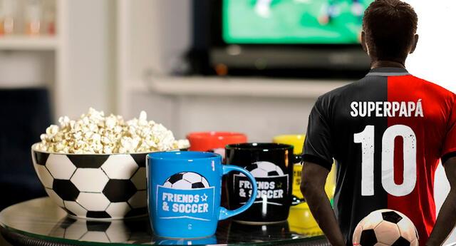 ¡Feliz día papa fútbol lover! Te damos 10 ideas para sorprender a papá.