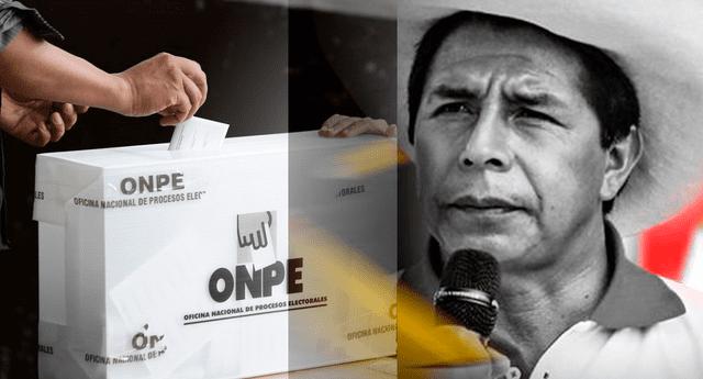 Pedro Castillo sería el virtual presidente del Perú, según el 99.9% de actas contabilizadas de la ONPE