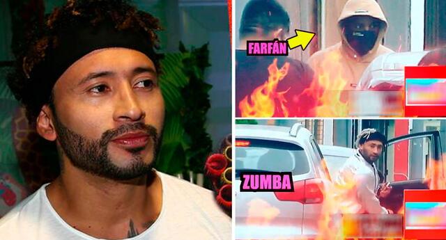 Zumba decidió aclarar el ampay de Amor y Fuego.