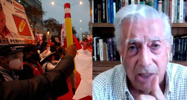 """""""'Inculto', 'peruanos informados y no informados'. Se le sale todo el racismo y clasismo a Mario Vargas Llosa"""", dijo una usuaria de Twitter."""