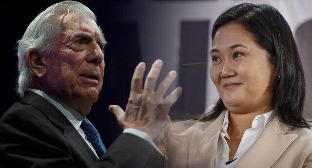 Mario Vargas Llosa confía en las confesiones de Keiko Fujimori.