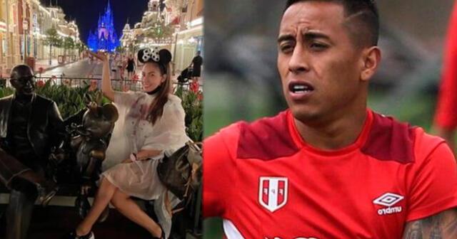 Pamela López olvida a Christian Cueva y pasea feliz en Disney World