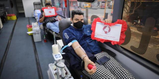 Personas entre los 18 y 65 años pueden donar sangre