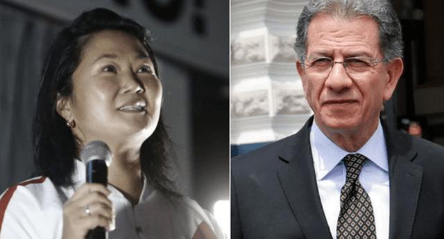 Keiko Fujimori presentó el nombre del abogado en un video publicado en las redes sociales.