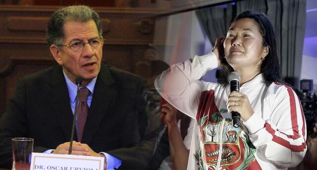 El abogado Óscar Urviola es ahora defensor de Fuerza Popular.