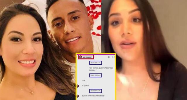 Alexandra Méndez sostuvo que la esposa de Cueva le dijo que le iba a poner demanda.