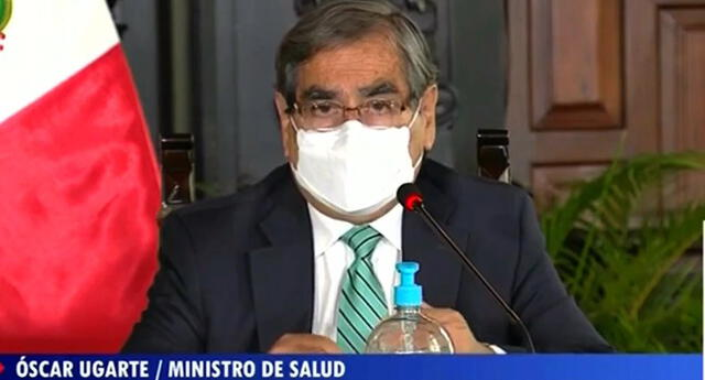 El titular del Ministerio de Salud recalcó que el Perú aún no se encuentra bajo una tercera ola de COVID-19.