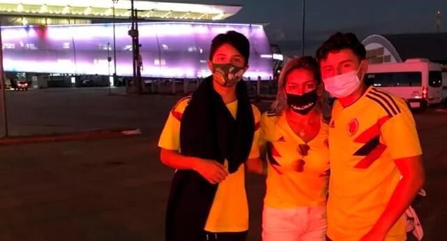 Al llegar a tierras brasileñas, la madre y sus dos hijos se llevaron con la ingrata sorpresa.