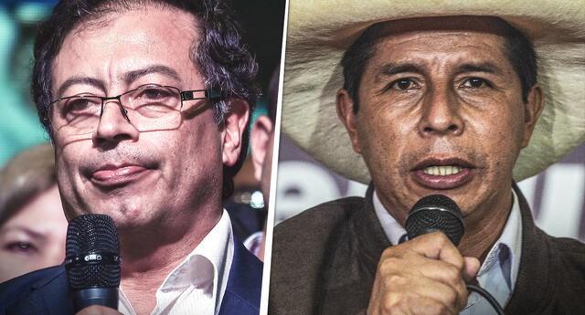 Gustavo Petro es el político mejor proyectado en Colombia de cara a los sufragios generales de 2022 y celebró el resultado conseguido por Pedro Castillo en Perú.