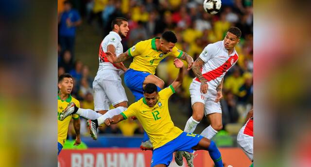 Conoce al favorito para quedarse con los tres puntos en el Perú vs. Brasil.