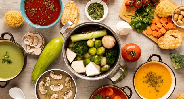Una sopa nutritiva puede ayudar a proteger nuestro sistema inmune.
