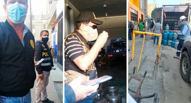 Los afectados piden que se pueda encontrar sus balones de gas, debido a que son su herramienta de trabajo.