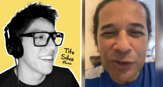 Reinaldo Dos Santos felicita a músico que le creo remix 'el tío ConchasuSamba'