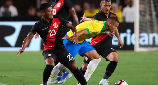El partido de Perú vs. Brasil se realizará hoy.