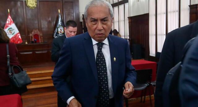 Pedro Chávarry fue destituido de su cargo como fiscal de la Nación el 2 de febrero de 2021.