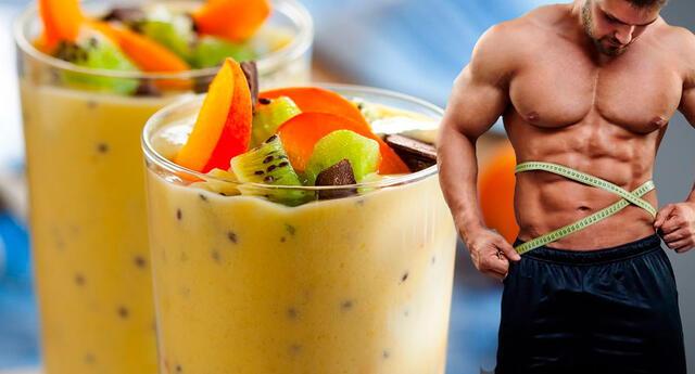 Batidos para subir masa muscular