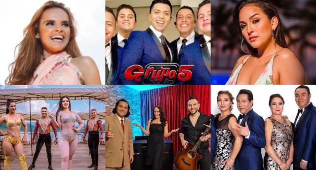 Este 20 de junio, artistas peruanos e internacionales brindarán shows en honor a los padres y te contamos cuáles son.